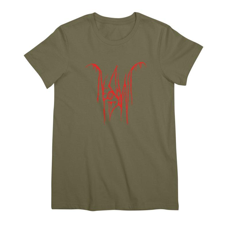 NeoScum Metal (Blood) Women's Premium T-Shirt by NeoScum Shop