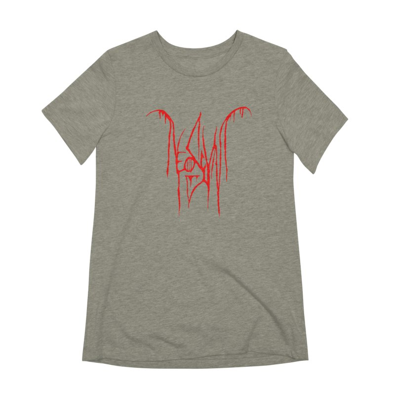 NeoScum Metal (Blood) Women's Extra Soft T-Shirt by NeoScum Shop