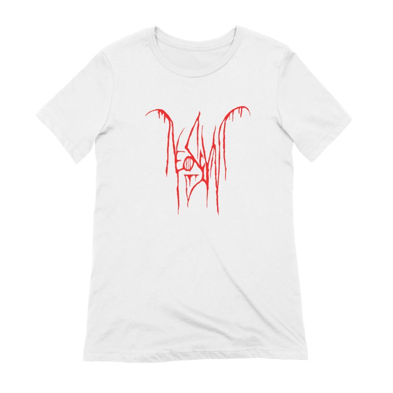 NeoScum Metal (Blood) Women's Extra Soft T-Shirt by NeoScum Shop