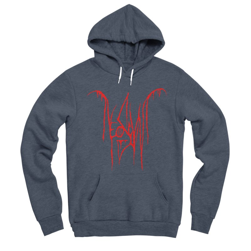 NeoScum Metal (Blood) Men's Sponge Fleece Pullover Hoody by NeoScum Shop