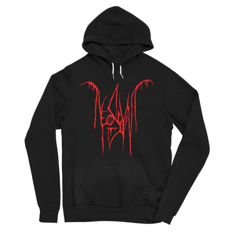NeoScum Metal (Blood) Men's Sponge Fleece Pullover Hoody by NeoScum Shop