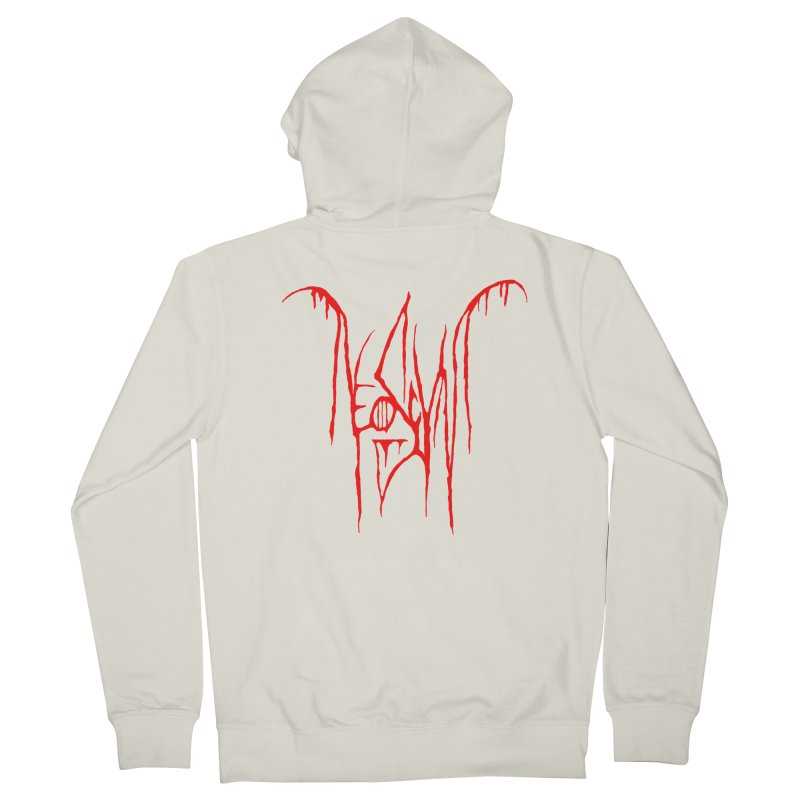 NeoScum Metal (Blood) Women's French Terry Zip-Up Hoody by NeoScum Shop