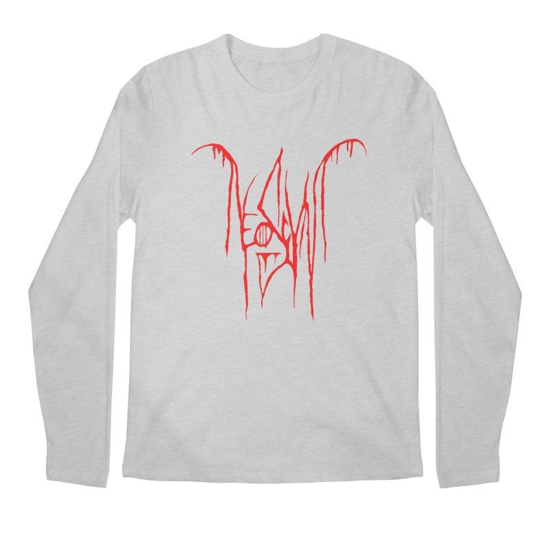 NeoScum Metal (Blood) Men's Regular Longsleeve T-Shirt by NeoScum Shop