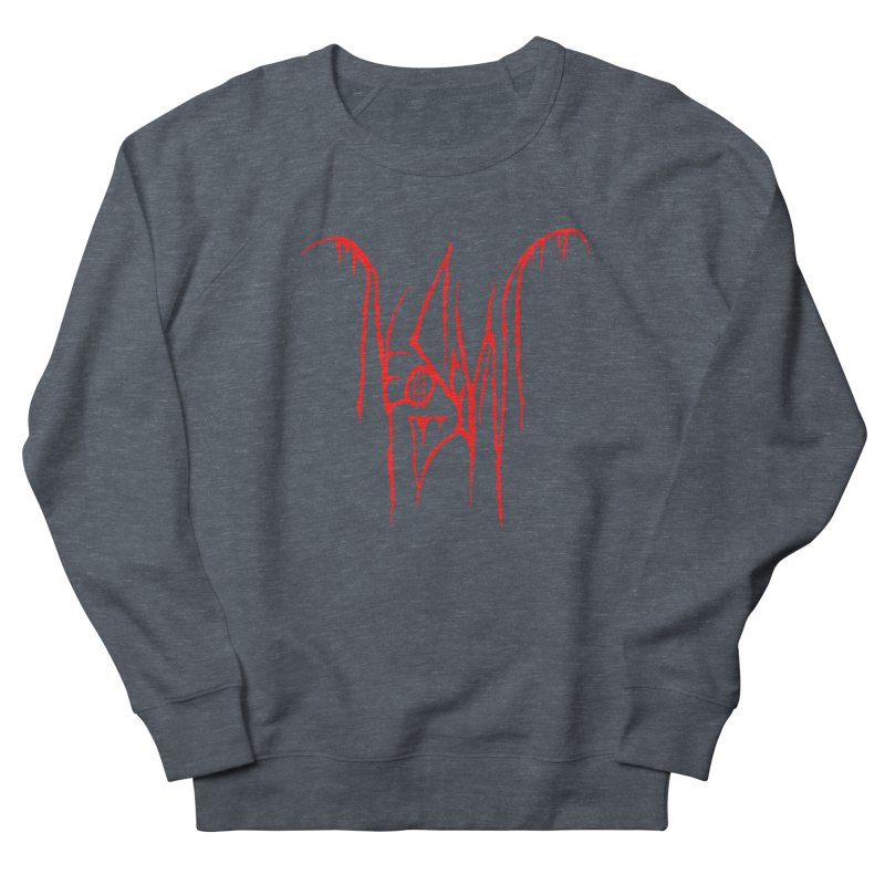 NeoScum Metal (Blood) Women's French Terry Sweatshirt by NeoScum Shop