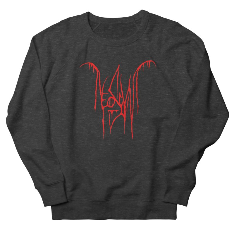 NeoScum Metal (Blood) Men's French Terry Sweatshirt by NeoScum Shop