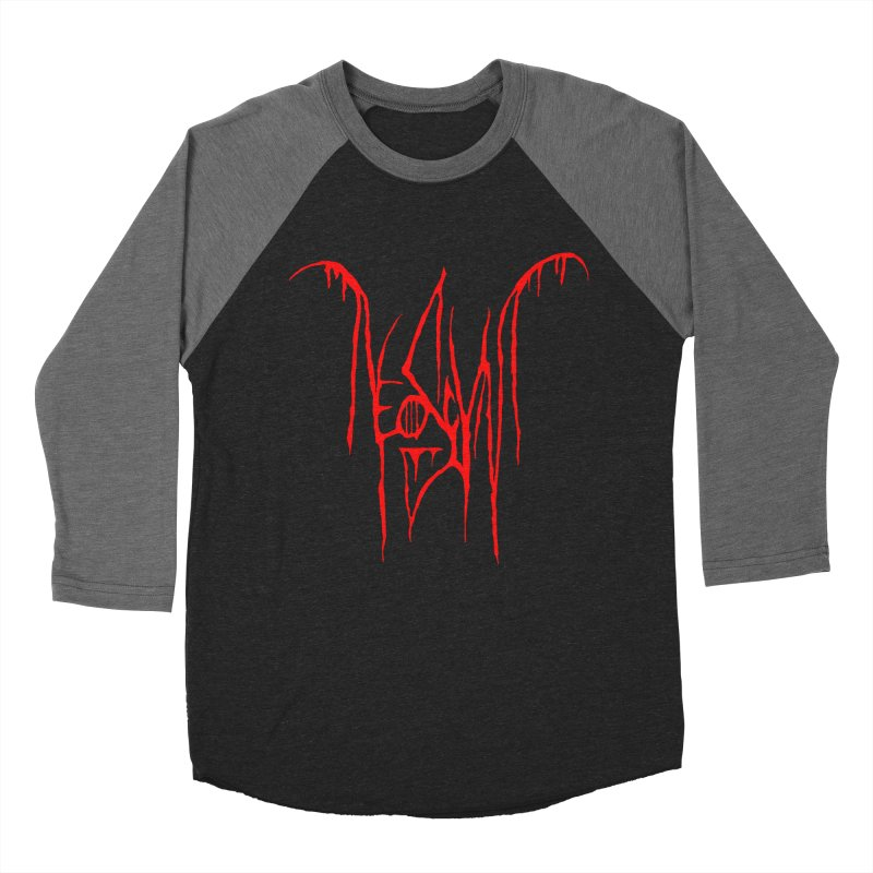 NeoScum Metal (Blood) Men's Baseball Triblend Longsleeve T-Shirt by NeoScum Shop