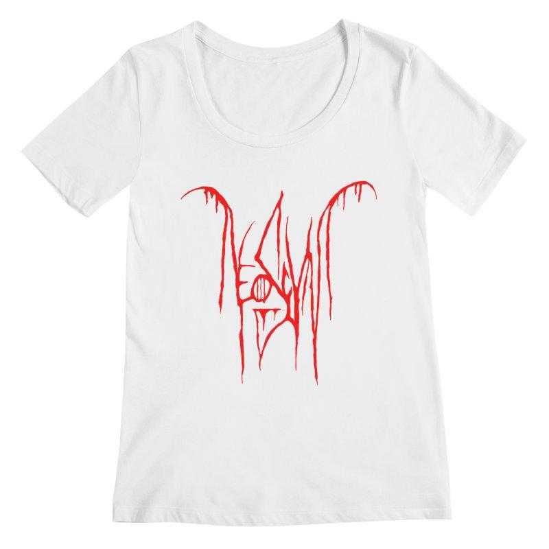 NeoScum Metal (Blood) Women's Regular Scoop Neck by NeoScum Shop