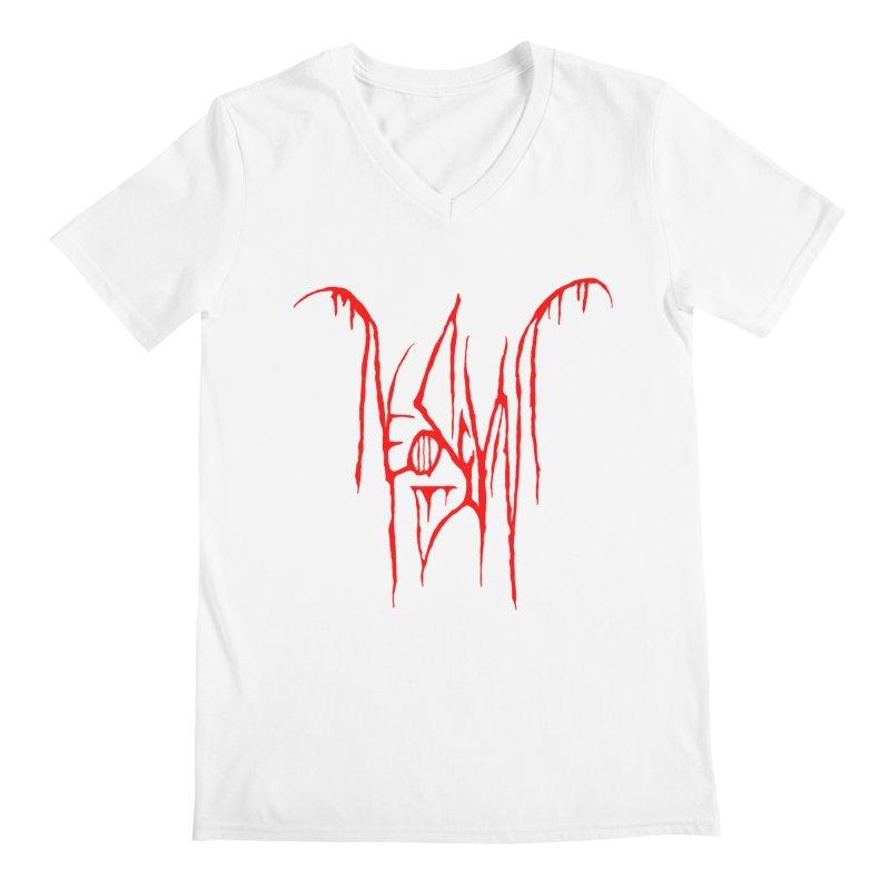 NeoScum Metal (Blood) Men's Regular V-Neck by NeoScum Shop