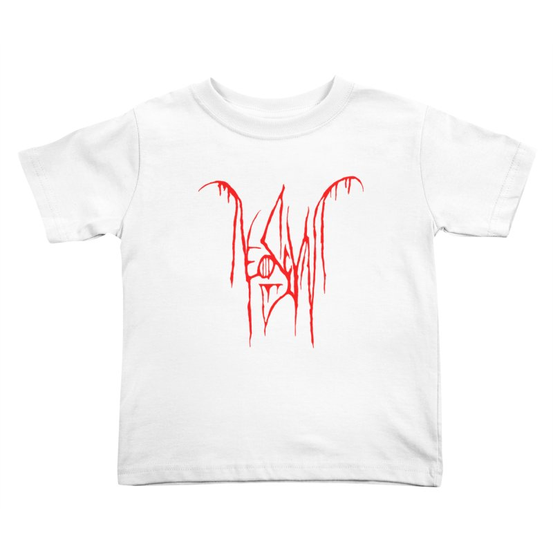 NeoScum Metal (Blood) Kids Toddler T-Shirt by NeoScum Shop