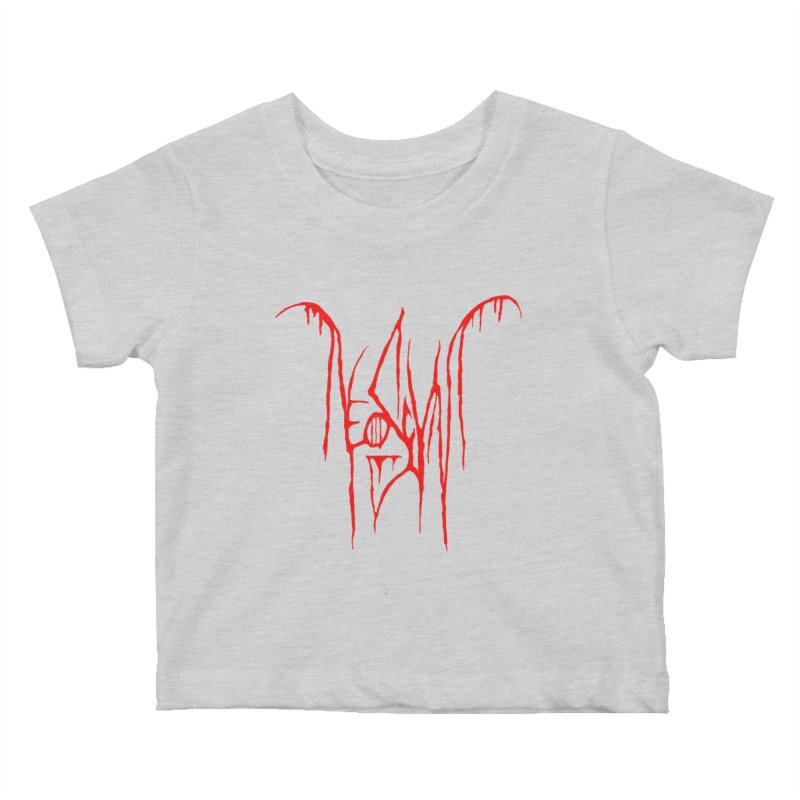 NeoScum Metal (Blood) Kids Baby T-Shirt by NeoScum Shop