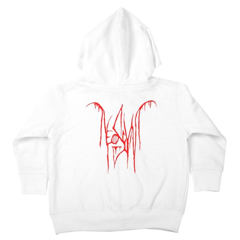 NeoScum Metal (Blood) Kids Toddler Zip-Up Hoody by NeoScum Shop