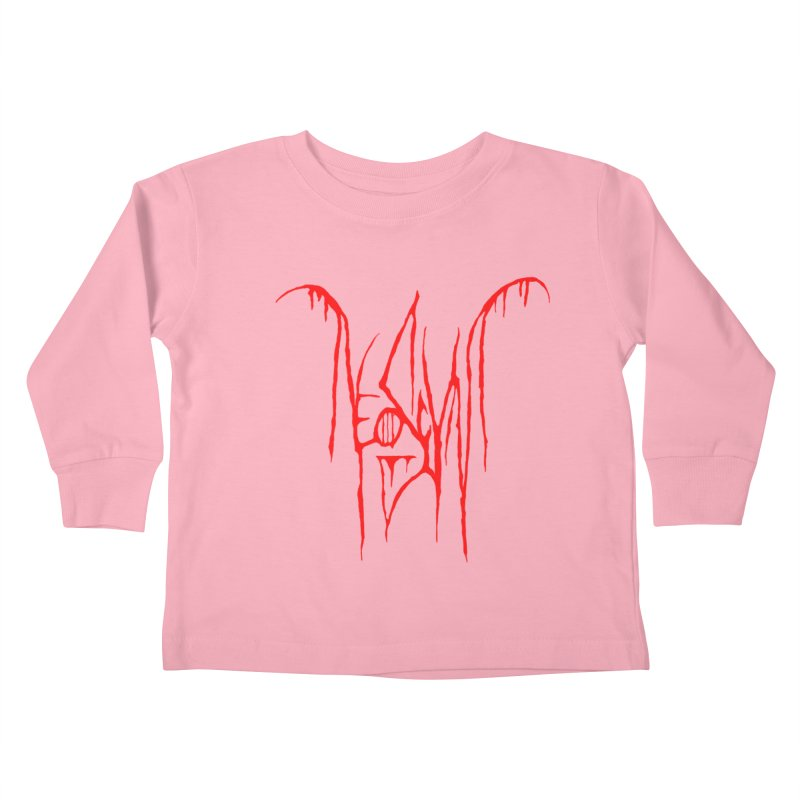 NeoScum Metal (Blood) Kids Toddler Longsleeve T-Shirt by NeoScum Shop