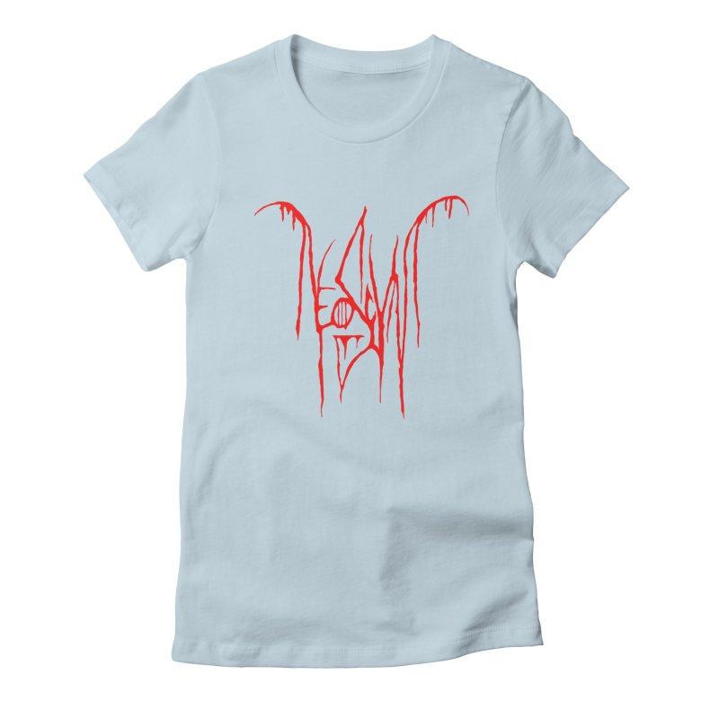 NeoScum Metal (Blood) Women's Fitted T-Shirt by NeoScum Shop