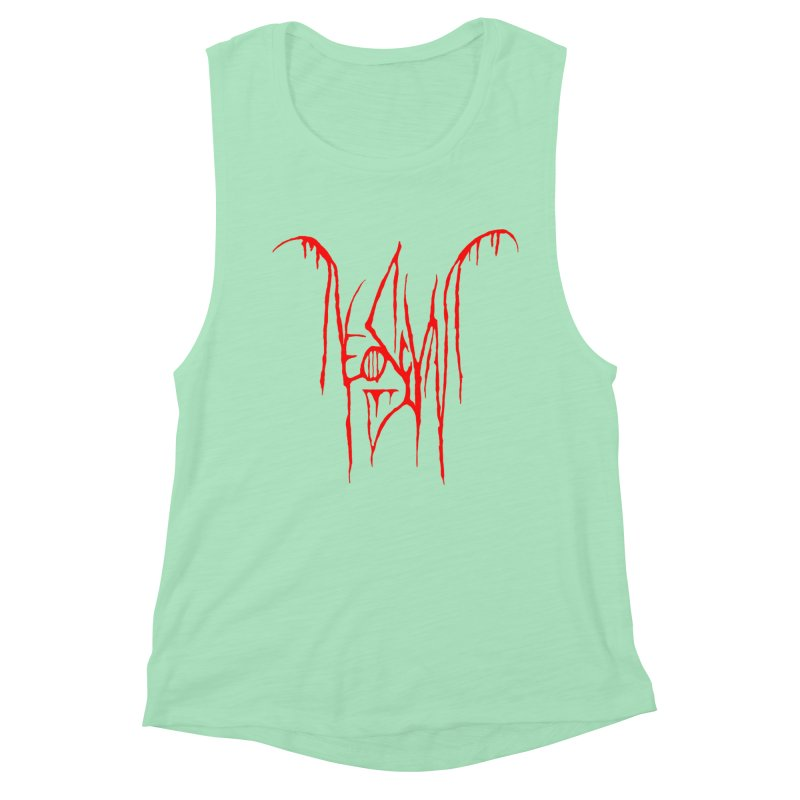 NeoScum Metal (Blood) Women's Muscle Tank by NeoScum Shop