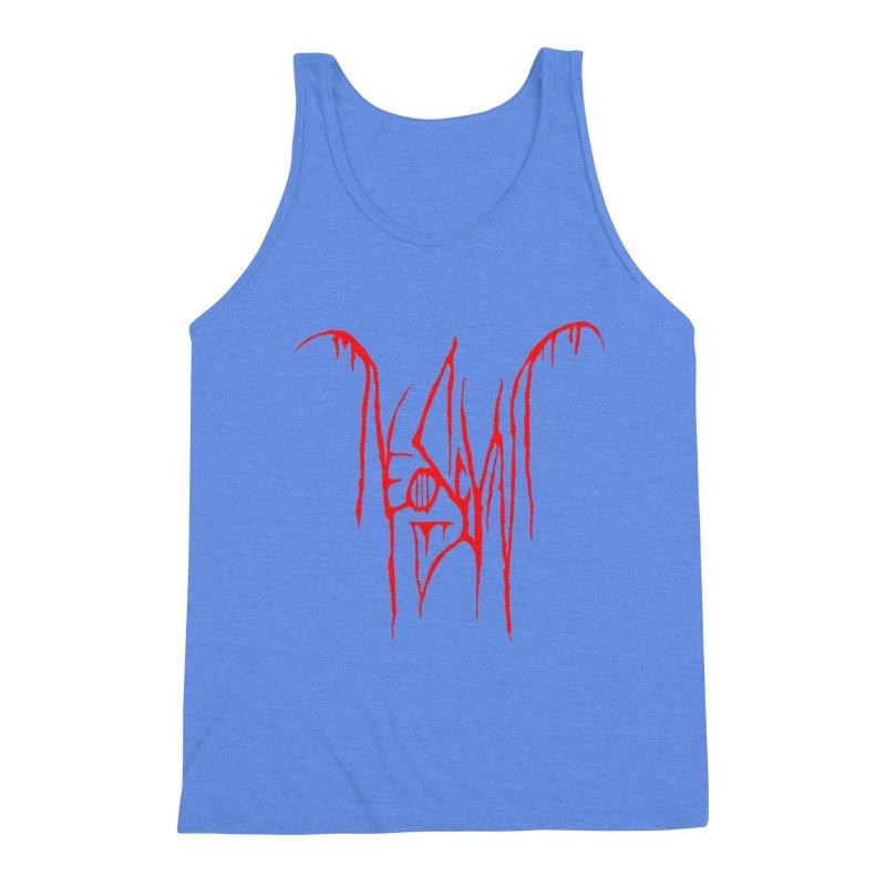 NeoScum Metal (Blood) Men's Triblend Tank by NeoScum Shop