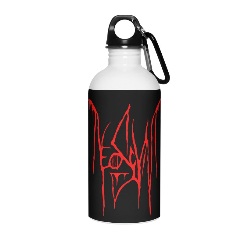 NeoScum Metal (Blood) Accessories Water Bottle by NeoScum Shop