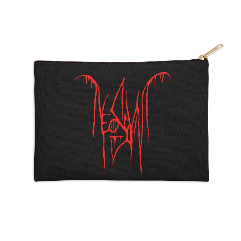 NeoScum Metal (Blood) Accessories Zip Pouch by NeoScum Shop