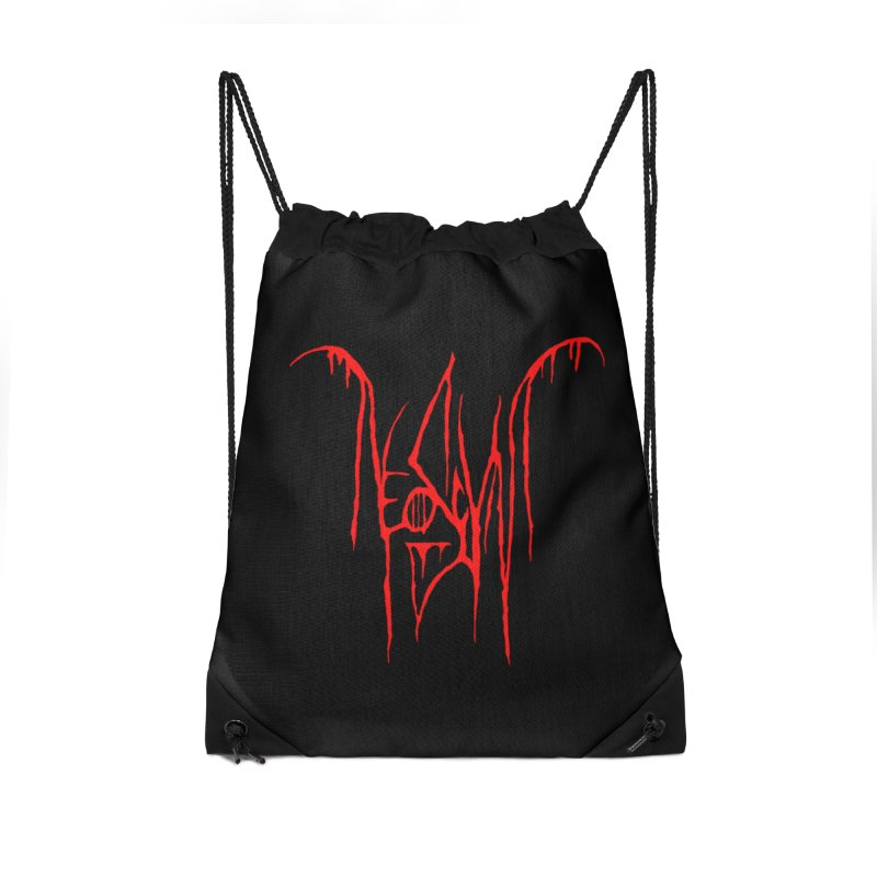 NeoScum Metal (Blood) Accessories Drawstring Bag Bag by NeoScum Shop
