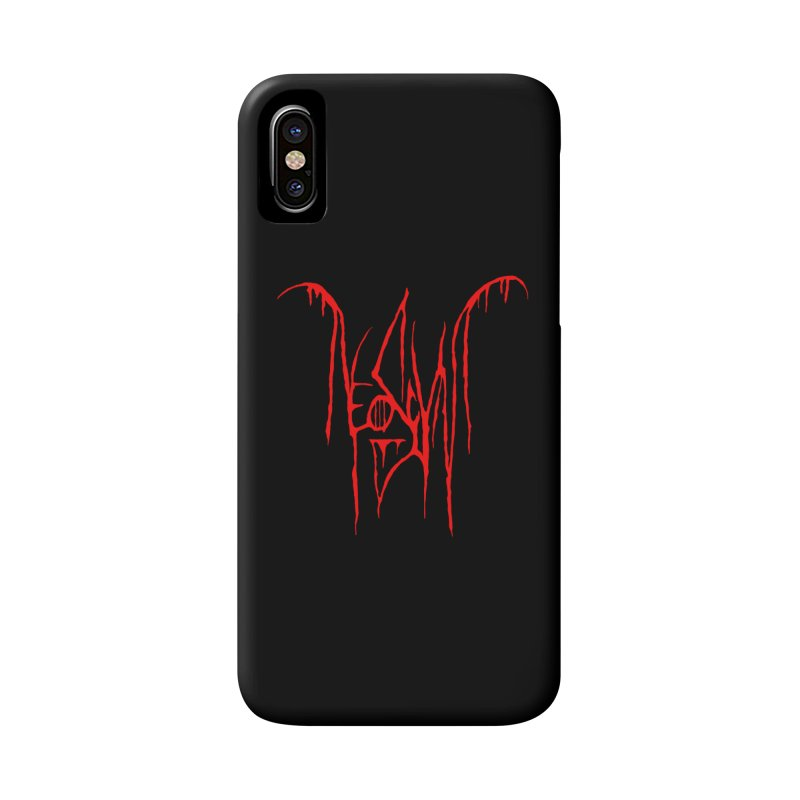 NeoScum Metal (Blood) Accessories Phone Case by NeoScum Shop