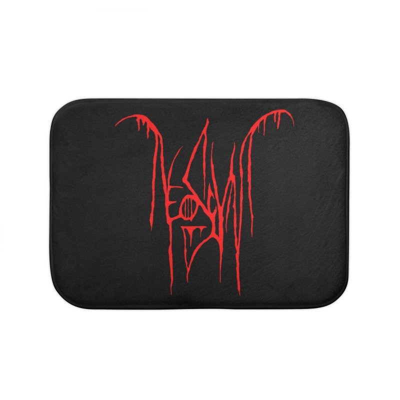 NeoScum Metal (Blood) Home Bath Mat by NeoScum Shop