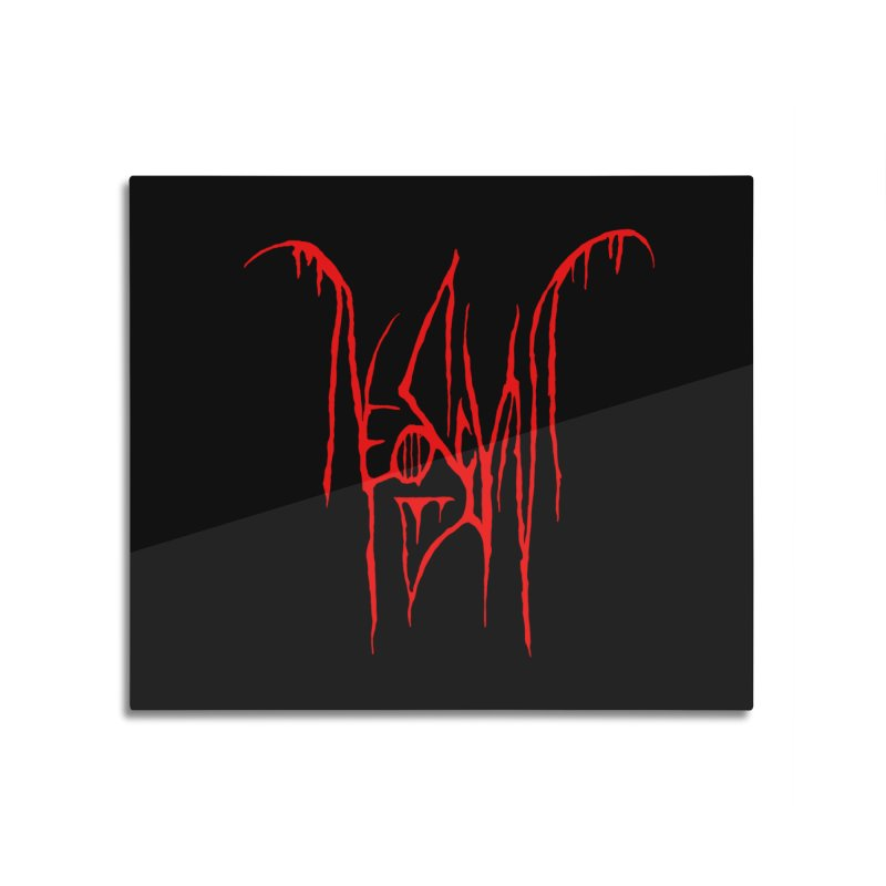 NeoScum Metal (Blood) Home Mounted Acrylic Print by NeoScum Shop