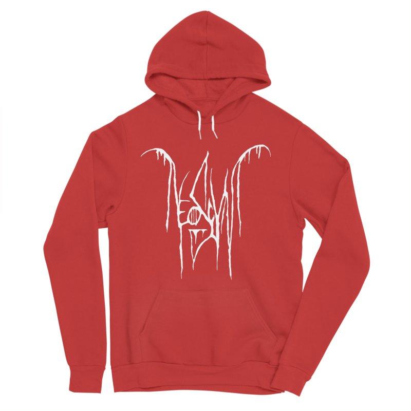 NeoScum Metal (Bone) Men's Sponge Fleece Pullover Hoody by NeoScum Shop