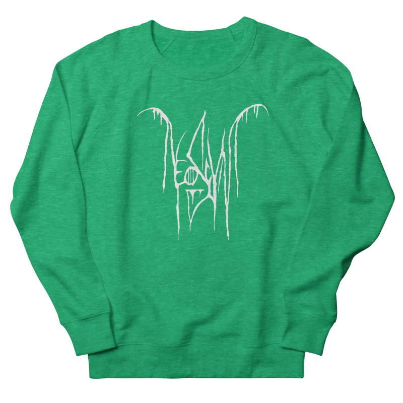 NeoScum Metal (Bone) Men's French Terry Sweatshirt by NeoScum Shop