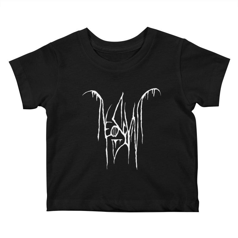 NeoScum Metal (Bone) Kids Baby T-Shirt by NeoScum Shop