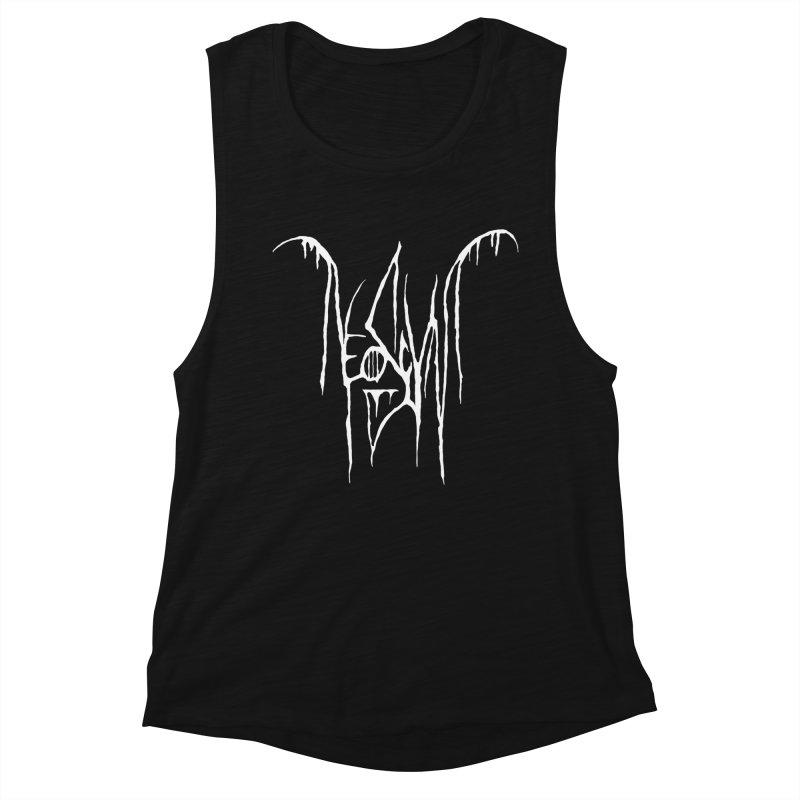 NeoScum Metal (Bone) Women's Muscle Tank by NeoScum Shop