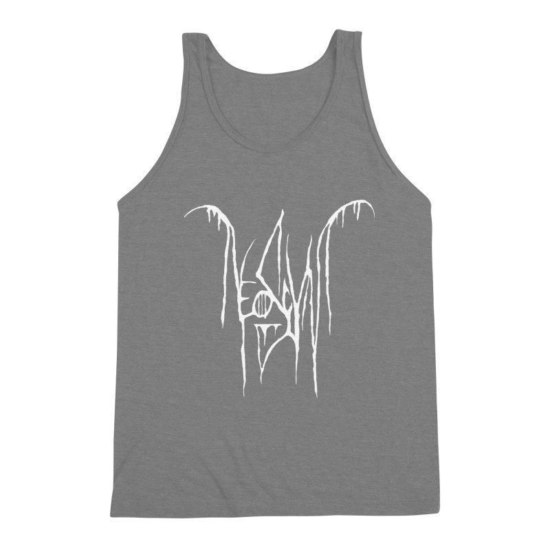 NeoScum Metal (Bone) Men's Triblend Tank by NeoScum Shop