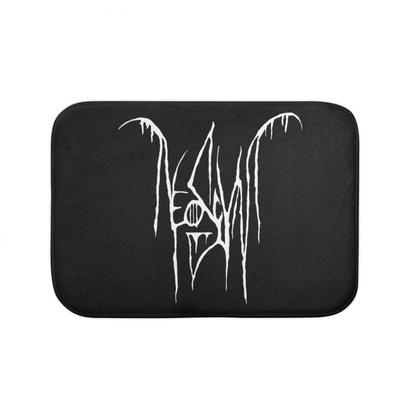 NeoScum Metal (Bone) Home Bath Mat by NeoScum Shop