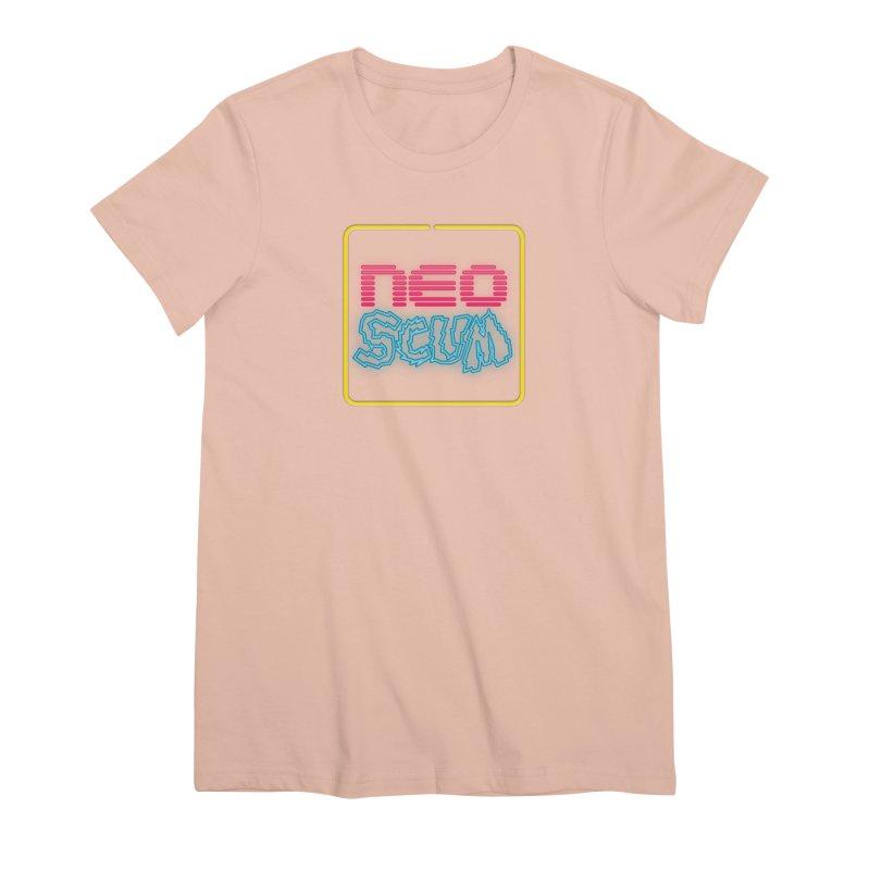 NeoScum OG Logo Women's Premium T-Shirt by NeoScum Shop
