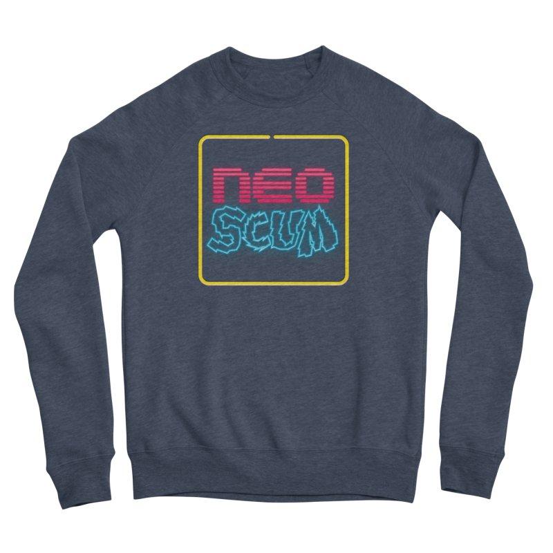 NeoScum OG Logo Men's Sponge Fleece Sweatshirt by NeoScum Shop