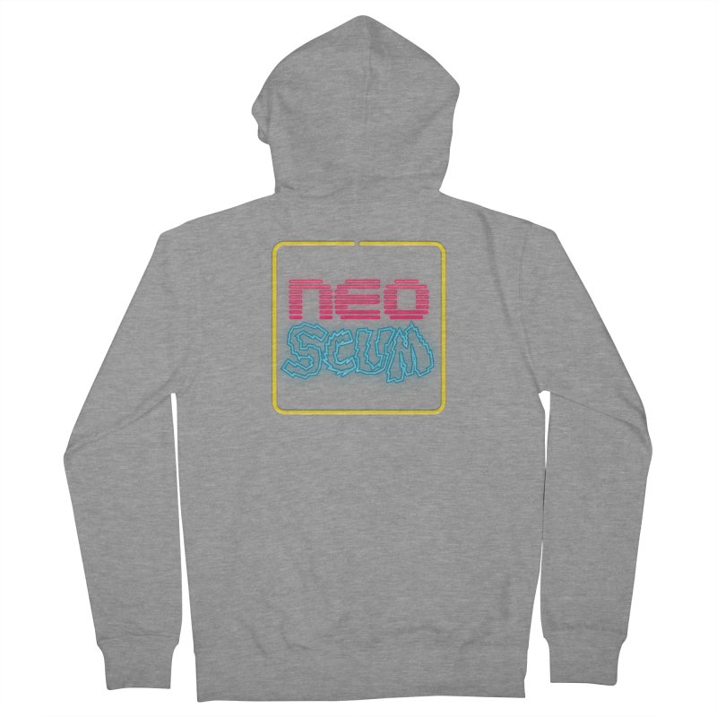 NeoScum OG Logo Women's French Terry Zip-Up Hoody by NeoScum Shop