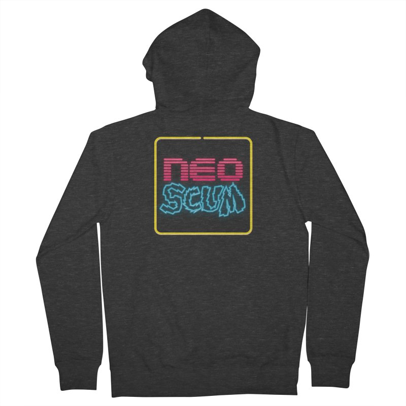 NeoScum OG Logo Men's French Terry Zip-Up Hoody by NeoScum Shop