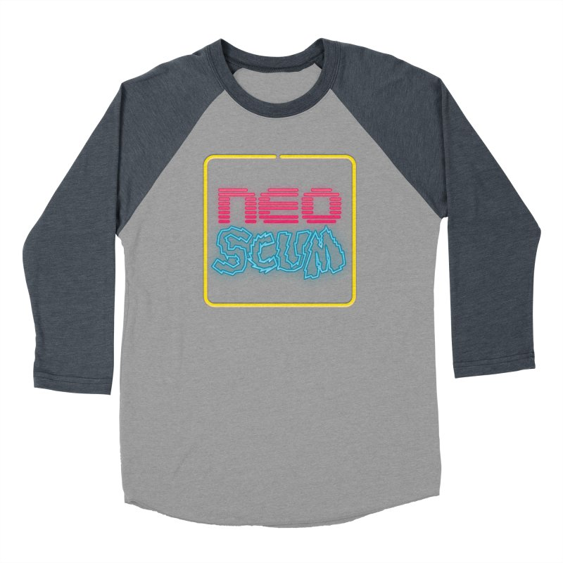 NeoScum OG Logo Men's Baseball Triblend Longsleeve T-Shirt by NeoScum Shop