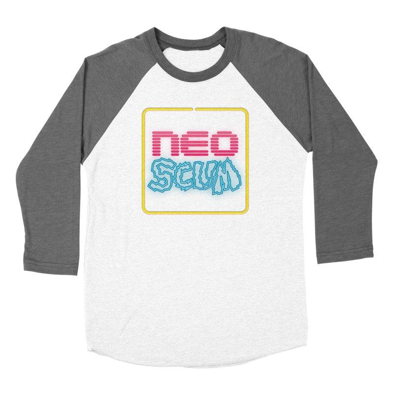 NeoScum OG Logo Men's Baseball Triblend Longsleeve T-Shirt by NeoScum Shop