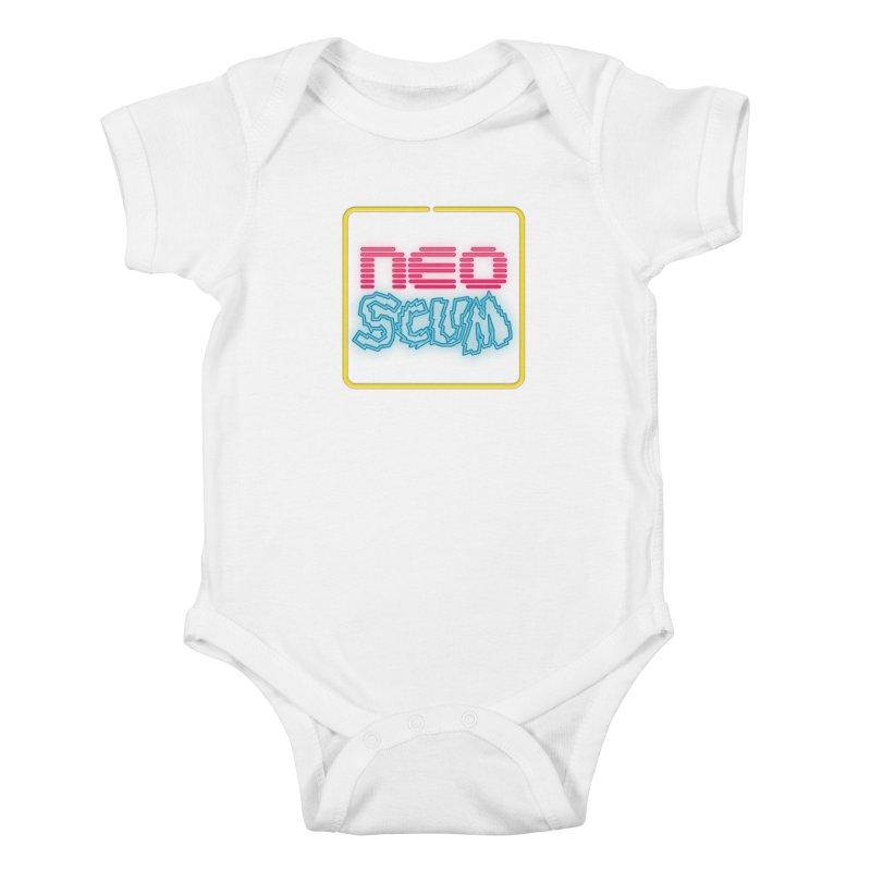 NeoScum OG Logo Kids Baby Bodysuit by NeoScum Shop
