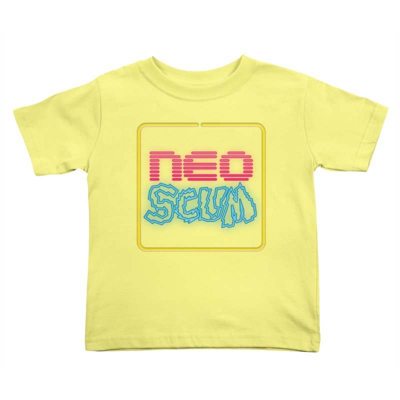 NeoScum OG Logo Kids Toddler T-Shirt by NeoScum Shop