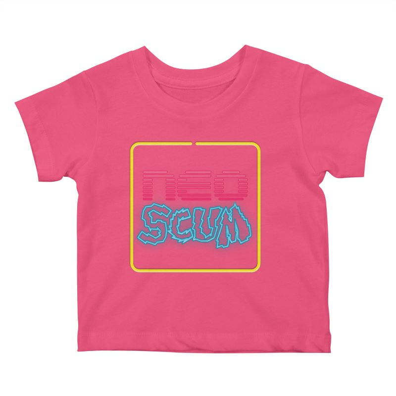 NeoScum OG Logo Kids Baby T-Shirt by NeoScum Shop