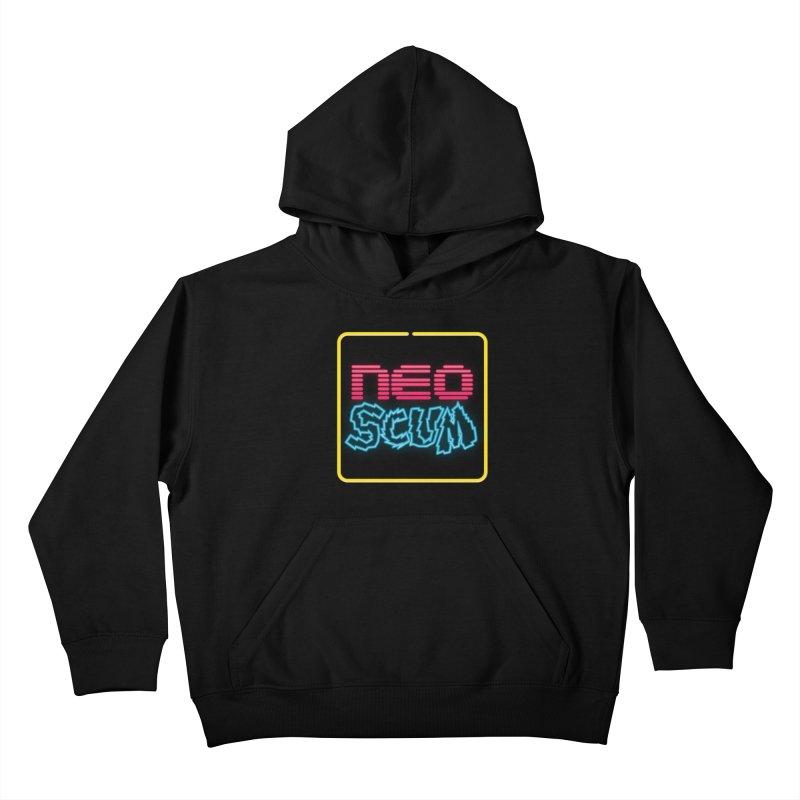 NeoScum OG Logo Kids Pullover Hoody by NeoScum Shop