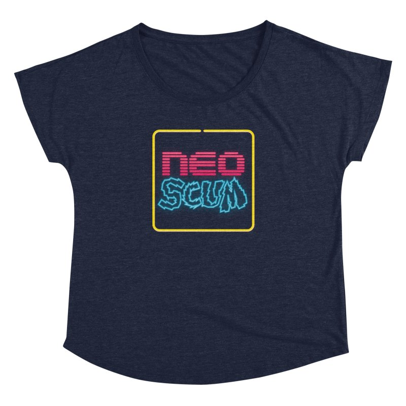 NeoScum OG Logo Women's Dolman Scoop Neck by NeoScum Shop