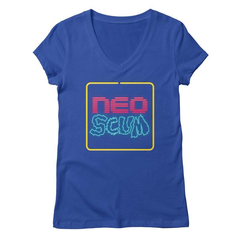 NeoScum OG Logo Women's Regular V-Neck by NeoScum Shop
