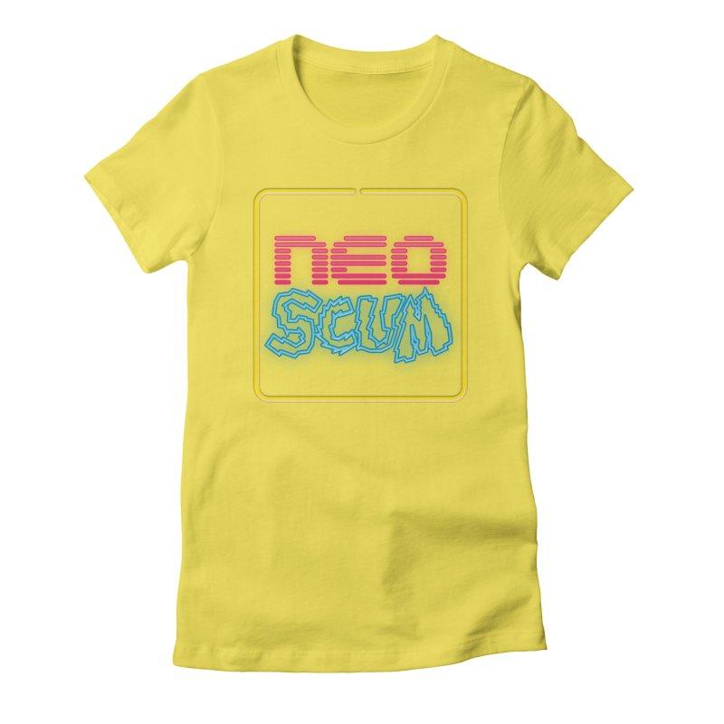 NeoScum OG Logo Women's Fitted T-Shirt by NeoScum Shop