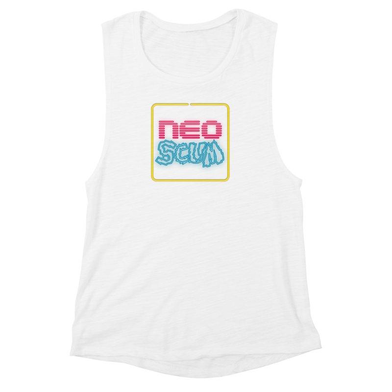 NeoScum OG Logo Women's Muscle Tank by NeoScum Shop