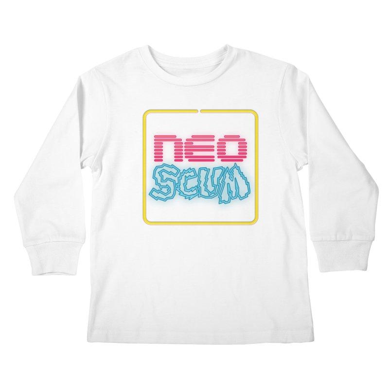 NeoScum OG Logo Kids Longsleeve T-Shirt by NeoScum Shop