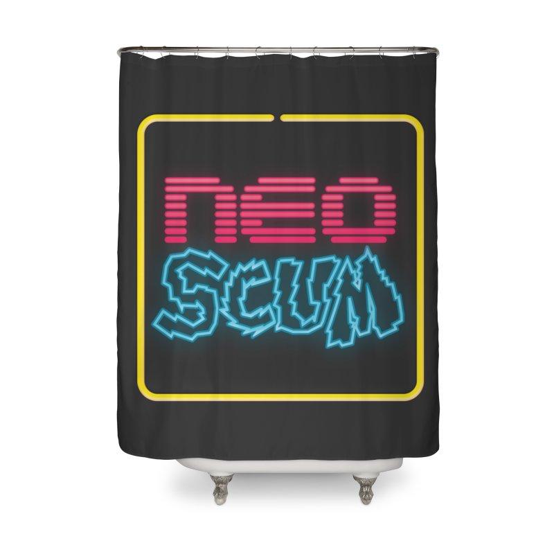 NeoScum OG Logo Home Shower Curtain by NeoScum Shop