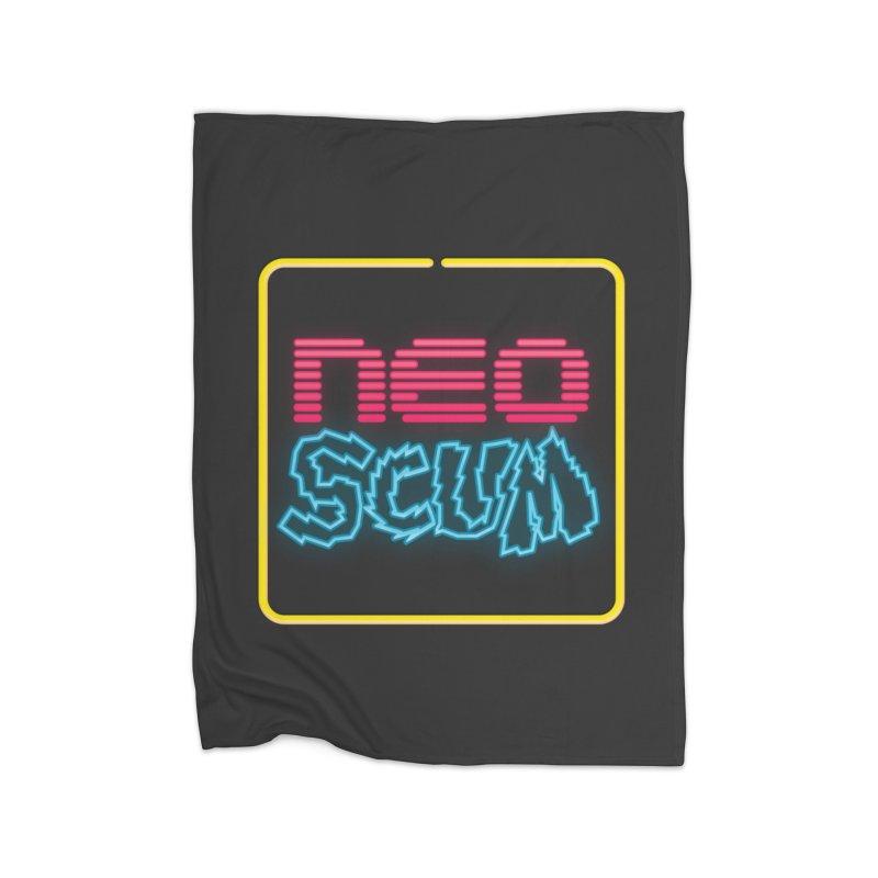 NeoScum OG Logo Home Fleece Blanket Blanket by NeoScum Shop