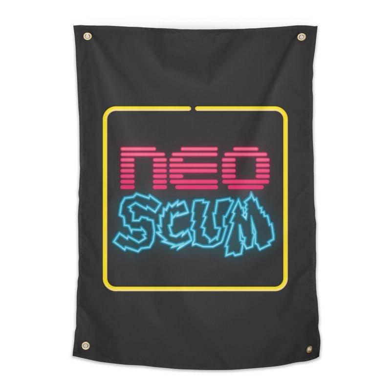 NeoScum OG Logo Home Tapestry by NeoScum Shop