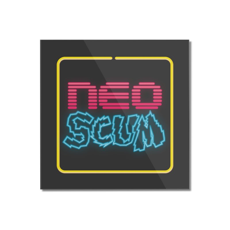 NeoScum OG Logo Home Mounted Acrylic Print by NeoScum Shop